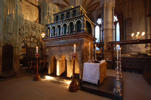 Shrine of Edward the Confessor in Westminster Abbey