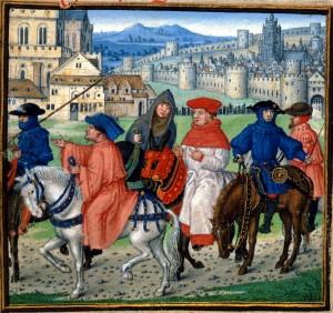 Pilgrims from Canterbury1