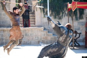 Game of Thrones Viper Mountain duel