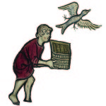 Initial I: A Bird Escaping from a Man's Basket