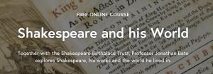 Shakespeare-futurelearn-course