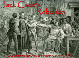 jack cade and the Wars of the Roses