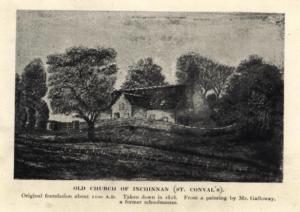 St conval church