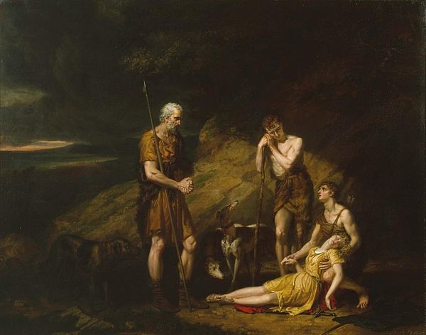 Imogen Discovered in the Cave of Belarius